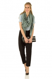 Silk pants Crepe | dark grey