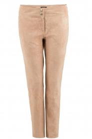 Suede pants Stefanie | pink