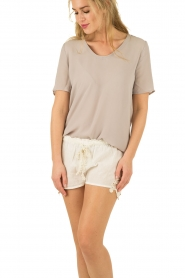 My Sunday Morning | Shorts Yanis | creme   | Afbeelding 2