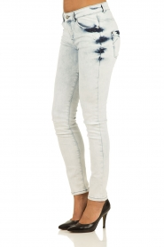 IKKS | Skinny jeans Bleach | blauw   | Afbeelding 4
