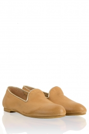 Leather loafers Eden | camel