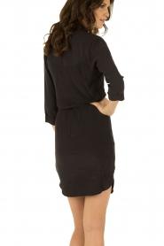 Dante 6 | Zijden jurk Mair | zwart   | Afbeelding 5