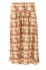Midi skirt Sagit | brown