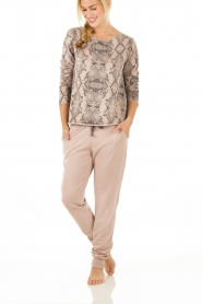 Juvia | Sweater Snake | roze   | Afbeelding 3