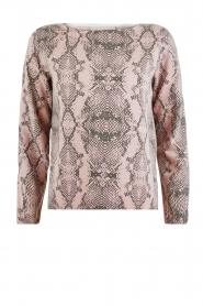 Juvia | Sweater Snake | roze   | Afbeelding 1
