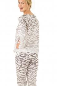 Juvia | Trui Zebra | grijs   | Afbeelding 5