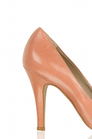 Leather pumps Nicole | nude