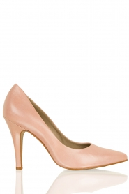 Leather pumps Nicole | pink