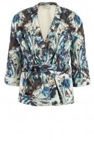 IRO | Kimono jas Fayra | blauw   | Afbeelding 1