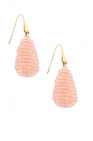 Miccy's |  Earrings Crystal Drops | pink  | Picture 1