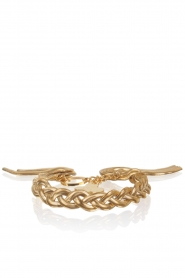 Armband Braided | goud
