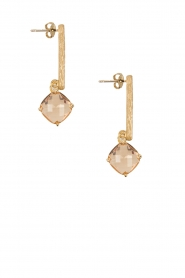 Earrings Pin | peach