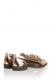Leather loafers Ansley | metallic