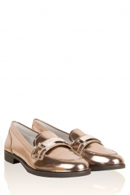 Leren loafers Ansley | metallic