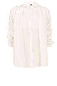 M Missoni | Zijden blouse Diana | off-white