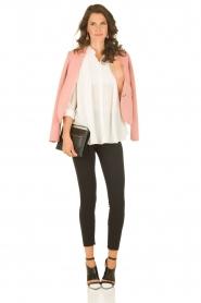 M Missoni | Zijden blouse Diana | off-white   | Afbeelding 3