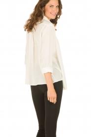 M Missoni | Zijden blouse Diana | off-white   | Afbeelding 5