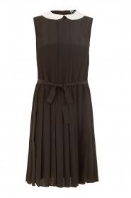 M Missoni | Zijden jurk Donata | zwart   | Afbeelding 1