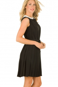 M Missoni | Zijden jurk Donata | zwart   | Afbeelding 4