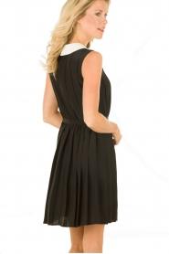 M Missoni | Zijden jurk Donata | zwart   | Afbeelding 5
