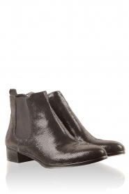 Leather ankle boots Inez | black