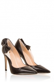 Leather pumps Bella | black