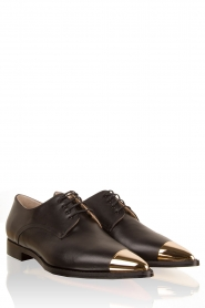 ELISABETTA FRANCHI | Leren schoenen Vero | zwart   | Afbeelding 1