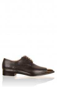 ELISABETTA FRANCHI | Leren schoenen Vero | zwart   | Afbeelding 3