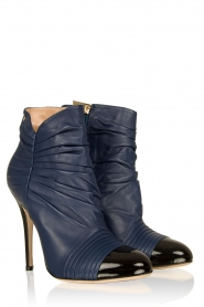 Leather ankle boots Prima | dark blue