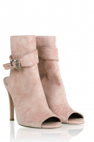 Suede pumps Rebelle | nude