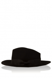 Aaiko | Wollen hoed Florence | zwart   | Afbeelding 1