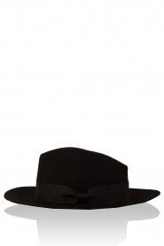 Woolen hat Florence | black