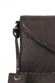 Noe | Leren clutch Lavata | zwart  | Afbeelding 4