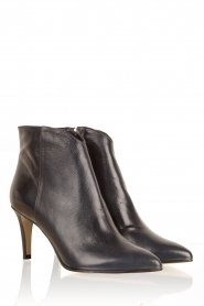 Leather ankle boots Nusia | dark blue