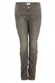Aaiko | Boyfriend jeans Miondo | grijs   | Afbeelding 1