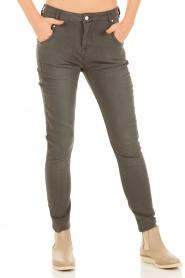 Aaiko | Boyfriend jeans Miondo | grijs   | Afbeelding 2