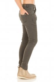 Aaiko | Boyfriend jeans Miondo | grijs   | Afbeelding 4