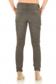 Aaiko | Boyfriend jeans Miondo | grijs   | Afbeelding 5