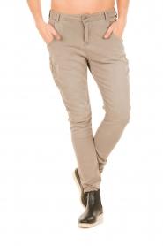 Aaiko | Boyfriend jeans Miondo | zand   | Afbeelding 2