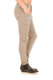 Aaiko | Boyfriend jeans Miondo | zand   | Afbeelding 4