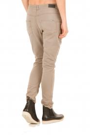 Aaiko | Boyfriend jeans Miondo | zand   | Afbeelding 5