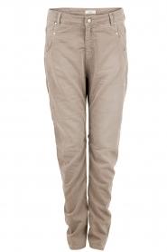 Aaiko | Boyfriend jeans Miondo | zand   | Afbeelding 1