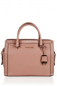 Leather handbag Collins | dusty pink