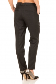 Trousers Sand | black