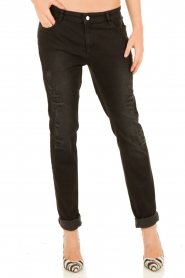 Set | Girlfriend jeans Arizona | zwart  | Afbeelding 2