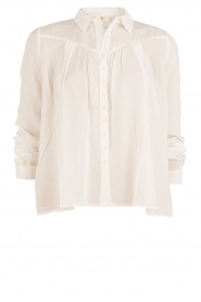 Blouse Tudor | white