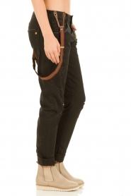 Manila Grace | Jeans Dest | zwart  | Afbeelding 4