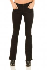 Lois Jeans | Flared jeans Melrose lengtemaat 34 | zwart  | Afbeelding 2