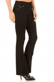 Lois Jeans | Flared jeans Melrose lengtemaat 34 | zwart  | Afbeelding 4