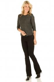 Lois Jeans | Flared jeans Melrose lengtemaat 34 | zwart  | Afbeelding 3